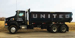 United Services dumpster rental
