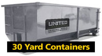 30 cubic yard dumpsters in Naperville
