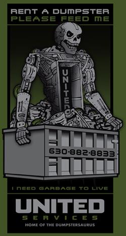 Dumpstersaurus - United Services