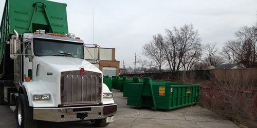 Dumpster Rental in Aurora IL and surrounding area